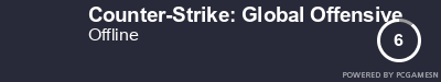 Steam Profile badge for Counter-Strike: Global Offensive: Get your our own Steam Signature at SteamProfile.com