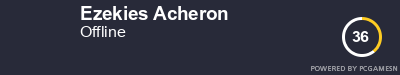Steam Profile badge for Ezekies Acheron: Get your our own Steam Signature at SteamProfile.com