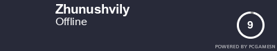Steam Profile badge for Zhunushvily: Get your our own Steam Signature at SteamProfile.com