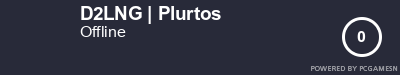Steam Profile badge for D2LNG | Plurtos: Get your our own Steam Signature at SteamProfile.com