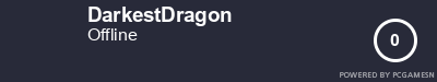 Steam Profile badge for DarkestDragon: Get your our own Steam Signature at SteamProfile.com