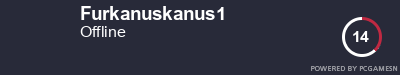 Steam Profile badge for Furkanuskanus1: Get your our own Steam Signature at SteamProfile.com