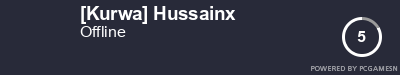Steam Profile badge for [Kurwa] Hussainx: Get your our own Steam Signature at SteamProfile.com