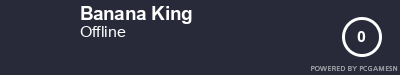 Steam Profile badge for Banana King: Get your our own Steam Signature at SteamProfile.com