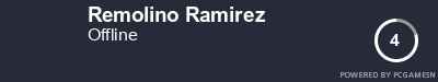 Steam Profile badge for Remolino Ramirez: Get your our own Steam Signature at SteamProfile.com